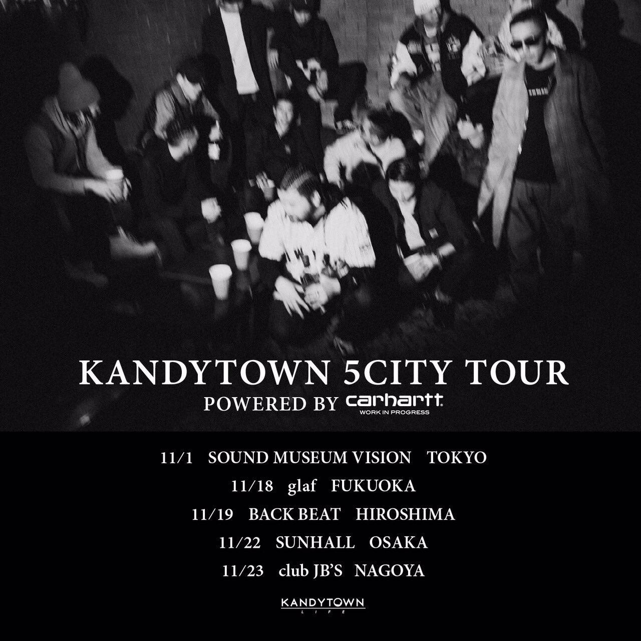 KANDYTOWN 5CITY TOUR