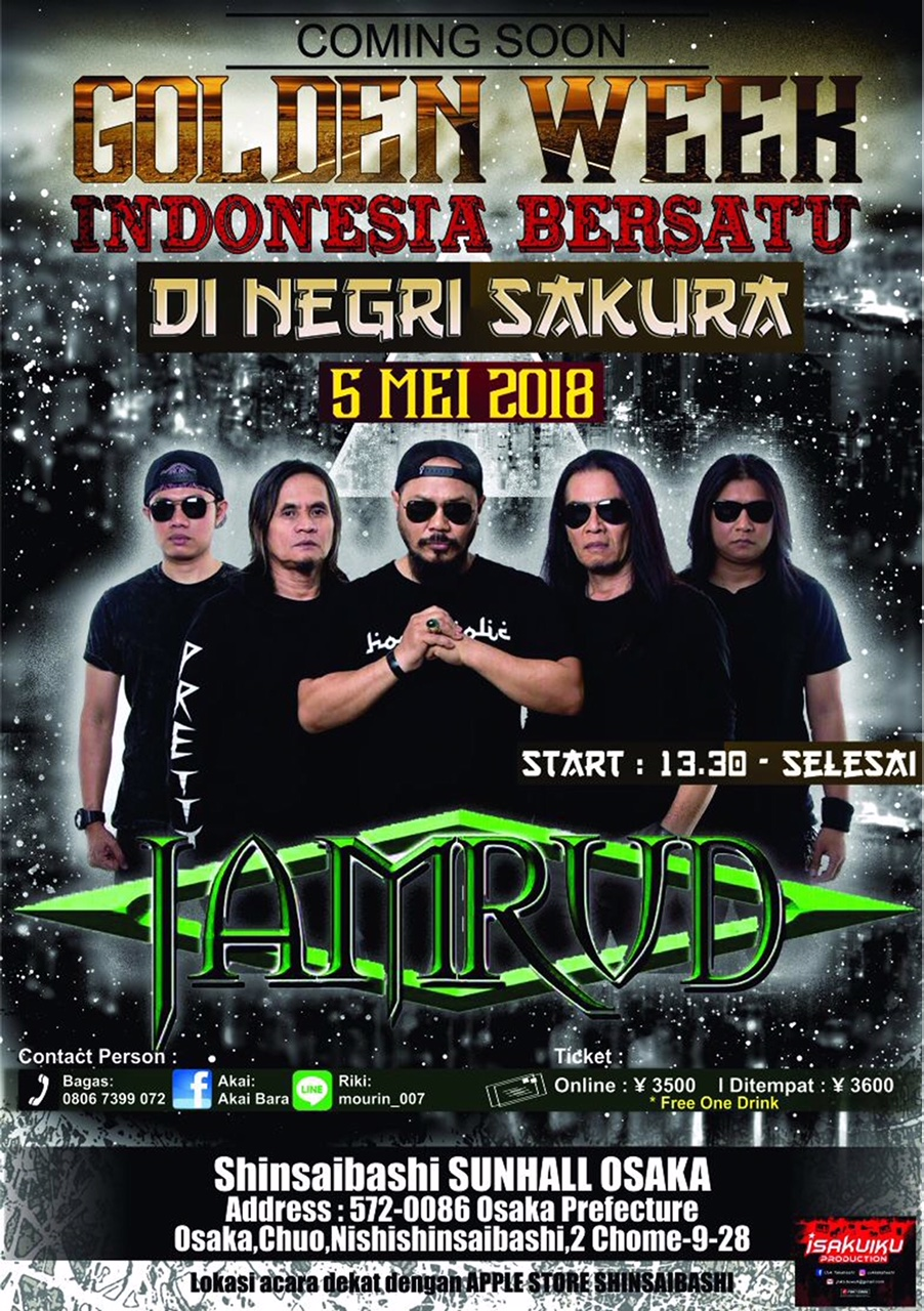 5th May 2018 JAMRUD 〜INDONESIA BERSATU〜